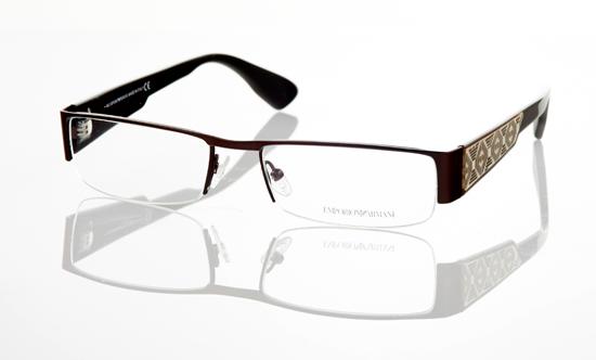 Armani Rimless Glasses Frames : Emporio Armani Unisex Eyewear
