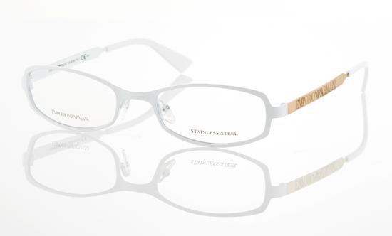 Armani Glasses Frames White : Emporio Armani Unisex Eyewear