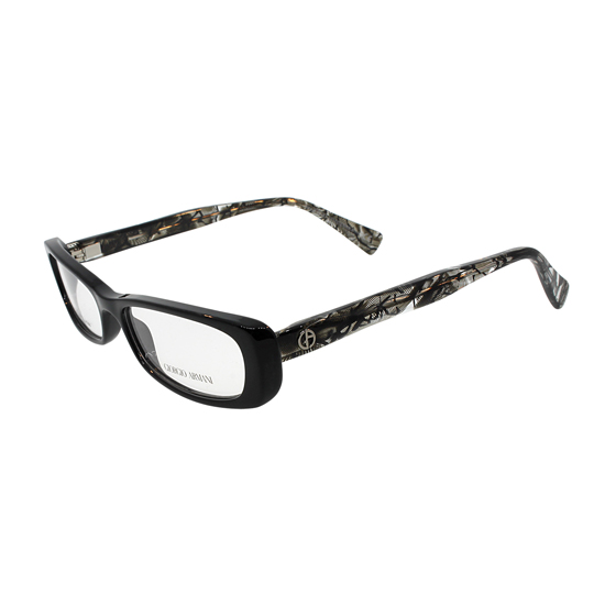 Giorgio Armani Women's Optic Frames: Black Black Lace (GA647-NNP-5115)
