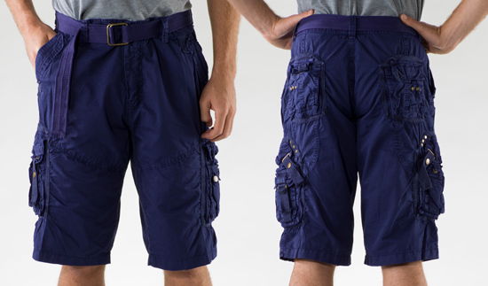 Etzo Men's Cargo Shorts Styles