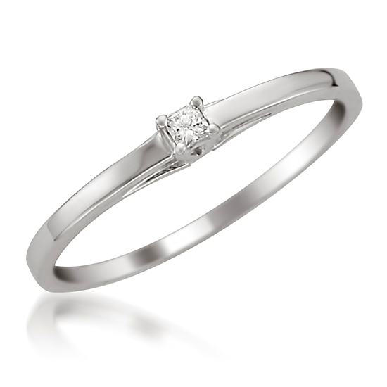 white gold promise ring white gold