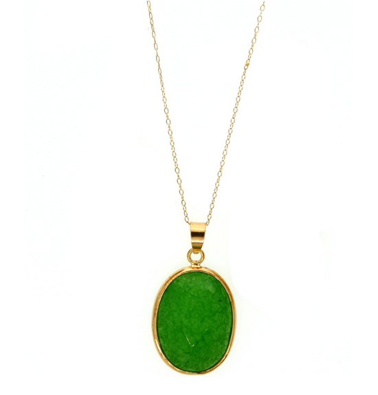 Genuine Dyed Jade Jewelry