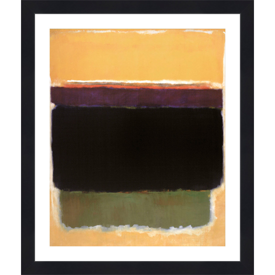 for mark rothko framed print 231 list price
