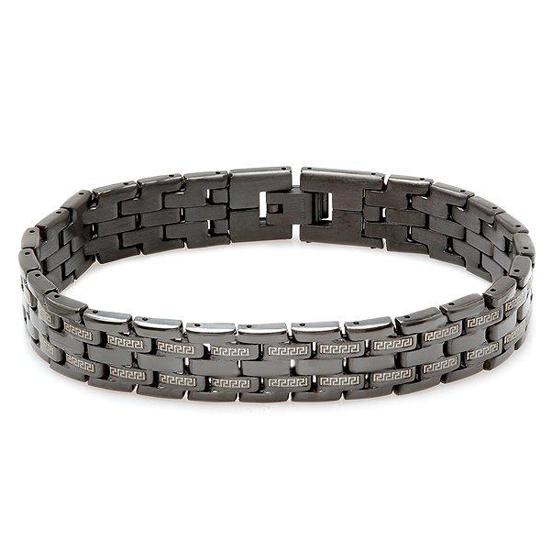 Steeltime Men's Stainless-Steel Jewelry