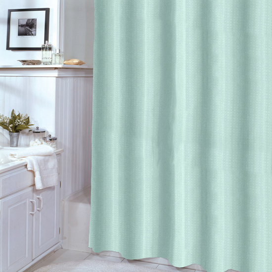 Embossed Vinyl Shower Curtain Liner