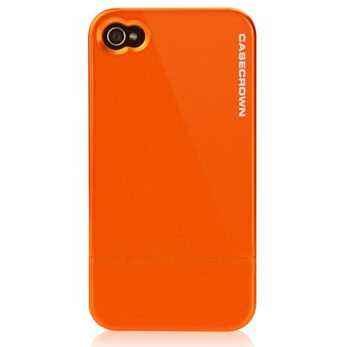 Orange Iphone Case Metallic iphone case in orange