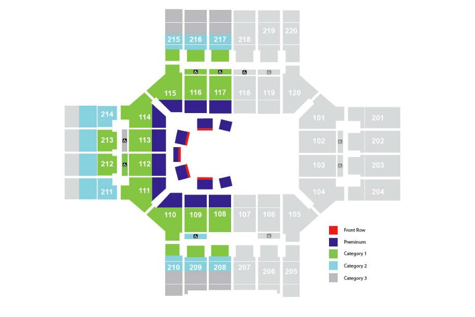 Cirque du Soleils Varekai in Colorado Springs CO – Map World Arena Colorado Springs
