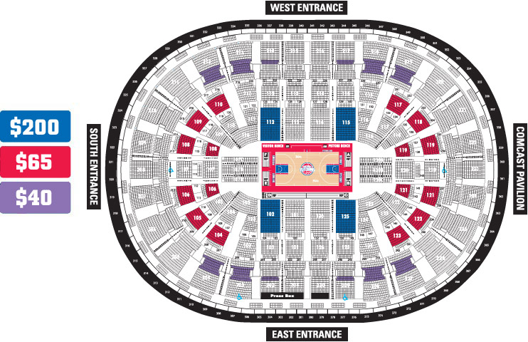 pistons seat chart: Detroit pistons up to 70 off two tickets detroit pistons
