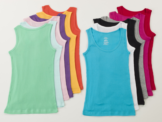 516583288e74 ... Men S Racerback Tank Tops Jcpenney: 12-Pack Of Women's Racerback Of  Muscle Assorted