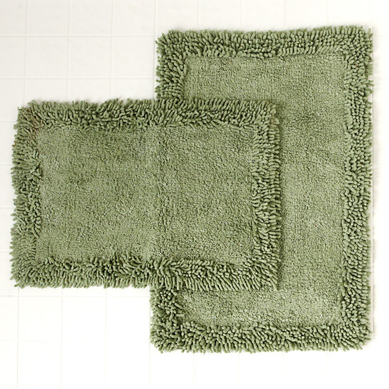 Home Weavers Luxury Shag Bath Rug Sets