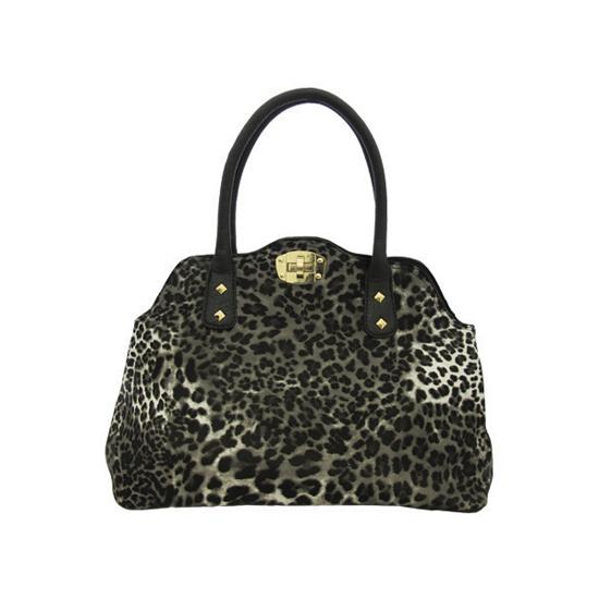 1c4c6b54ae  24.99 for Yoki Leopard Bags  Shoulder in Black ( 59.99 List Price)
