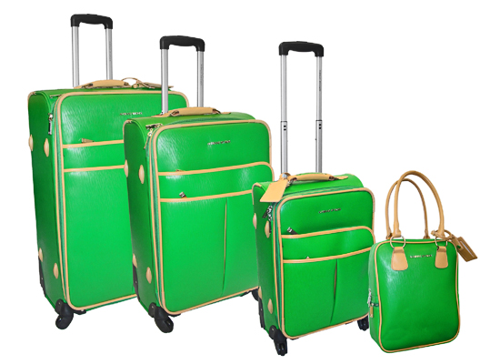 8d184e796544 Pink And Green Luggage | Light Luggage