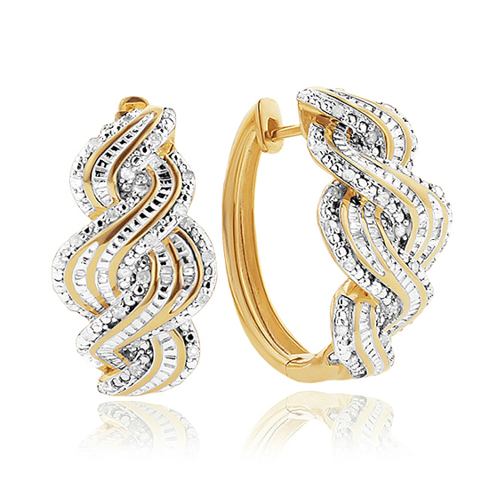 Gold Plated Diamond Jewelry
