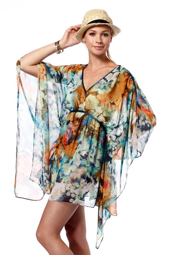 Classique Chiffon Kimono Tops