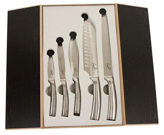 Emeril Cutlery Five Piece Knife Sets