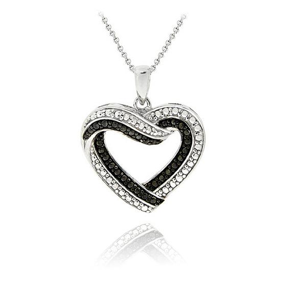 Diamond Heart Necklace Walmart