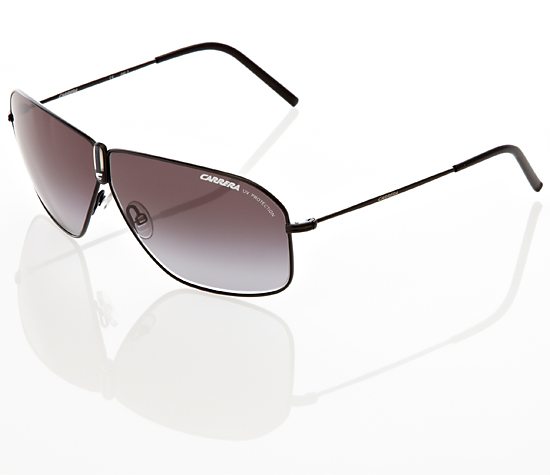4d180bfaf2ab $55.99 for Carrera Aviator Sunglasses: Carrera Funky in Semi Matte Black Metal  Frame/Gray Gradient Lens (PDE) ($140 List Price)