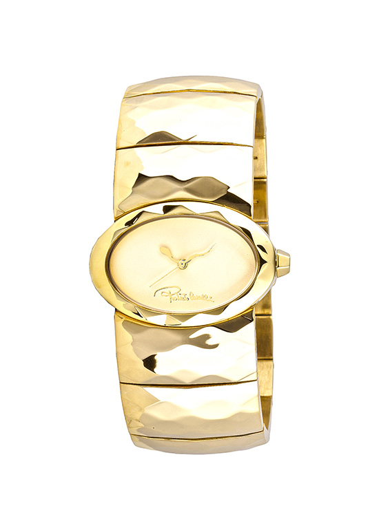418319ee609a6 $99.99 for Roberto Cavalli Women's Watch: Multiface/Gold Stainless Steel  Band/Gold-Tone Dial (R7253133617) ($440 List Price)