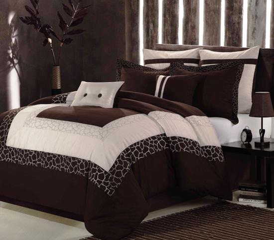Chic Home Eight Piece Comforter Set