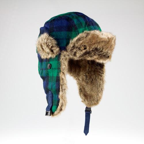 b228c7b8 David & Young Printed Trapper Hats