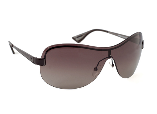 f0933d4a4f Women s shiny black frame with grey lenses