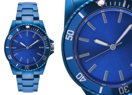 e9b4d7b0f Geneva Women's Sports Collection Watch: Blue Plastic Band/Blue Dial  (27537XT)