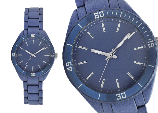 259a8e60a Geneva Women's Sports Collection Watch: Dark Blue Alloy Band/Dark Blue Dial  (83130TC)
