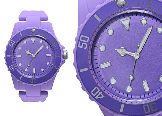 00e78c22b Geneva Women's Sports Collection Watch: Purple Plastic Band/Purple Dial  (27427XT)
