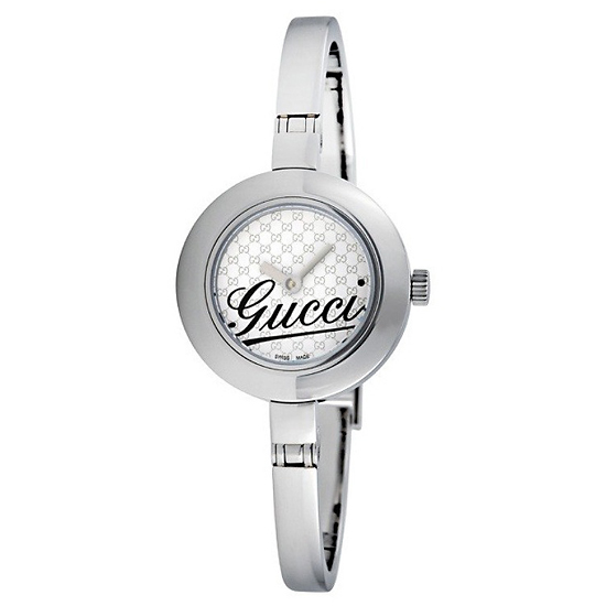 1d962a9017e  199 for Women s Gucci Watch with Stainless-Steel Band and Silver Dial   YA105528 ( 495 List Price)