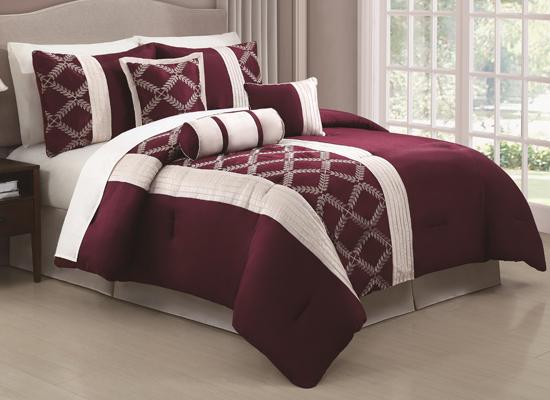 Hyde Park 7 Piece Comforter Sets