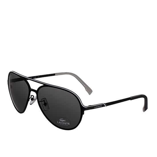 f454b6fafdc3 Product Name  Lacoste Sunglasses Men s Satin Black ...
