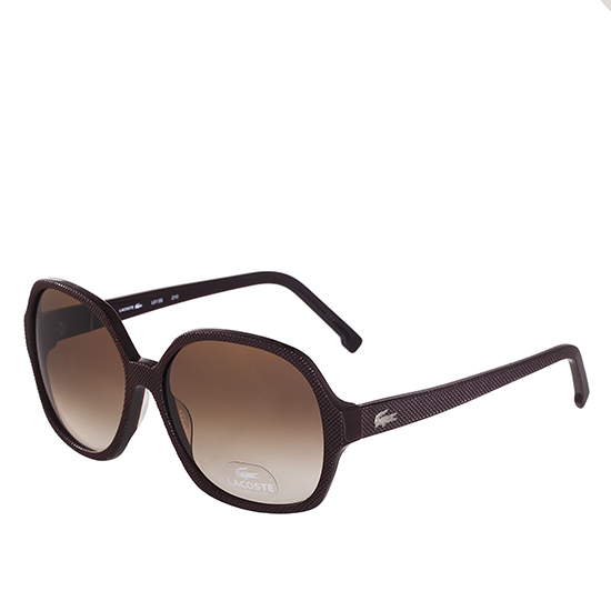 2823b6ff48 Lacoste Women s Sunglasses  Brown Frame Brown Lens (L613S.210.58-15) ( 170  List Price)
