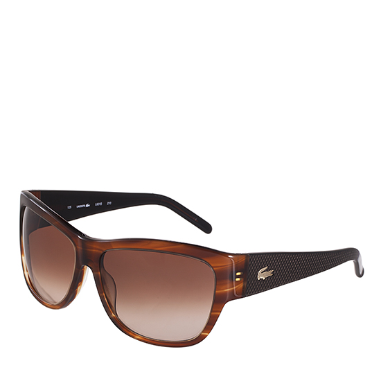 e23362a9d2 Product Name  Lacoste Sunglasses Men s Striped Brown ...