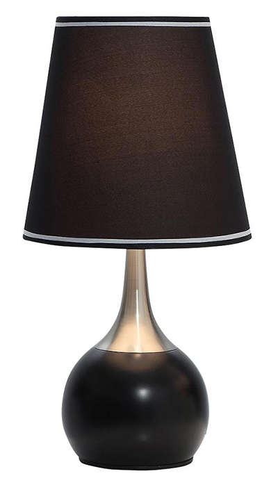 contemporary table touch lamps. Black Bedroom Furniture Sets. Home Design Ideas
