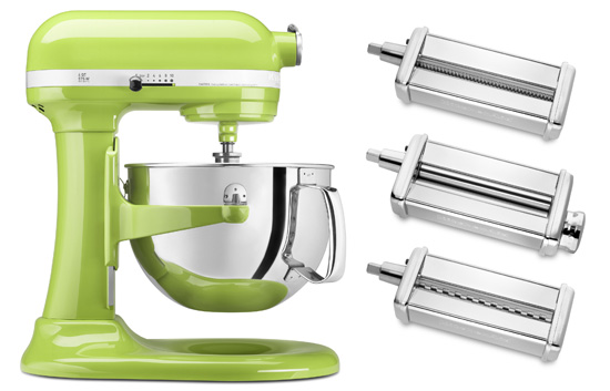 KitchenAid Stand Mixer and Pasta Set
