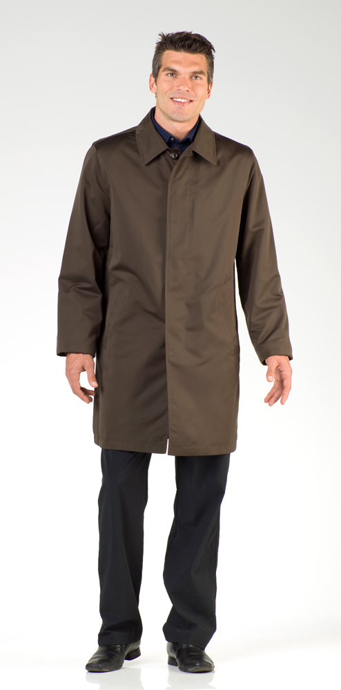 6044e3c0a London Fog Men's Lightweight Raincoats and Sizing Chart