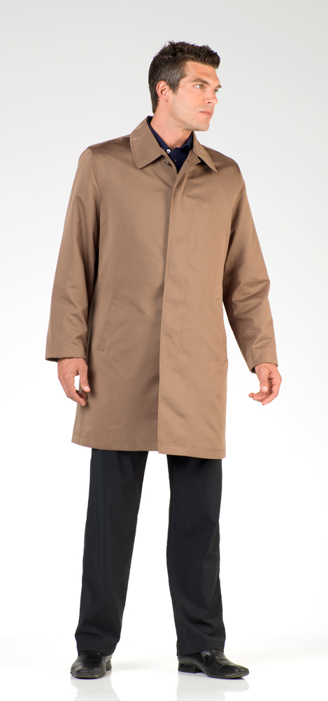 London Fog Men S Lightweight Raincoats And Sizing Chart
