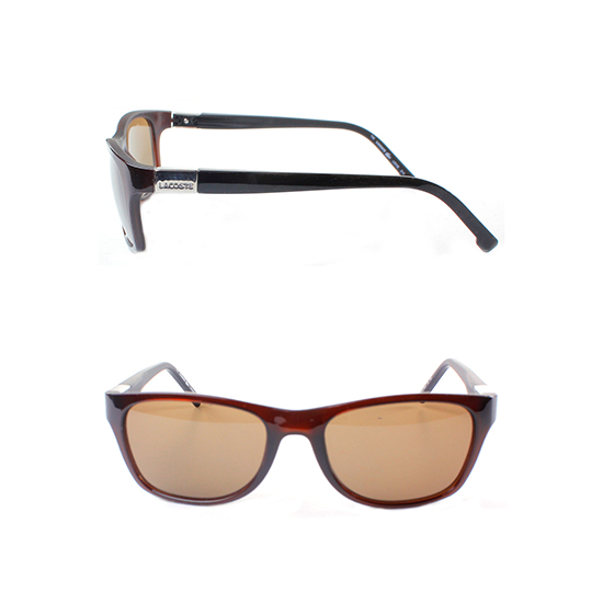 6c817687ca Lacoste Sunglasses  Brown and Khaki Frame Brown Lens (L503S-210-53) ( 138  List Price)
