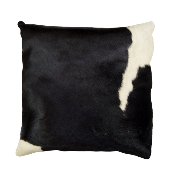 Cowhide And Leather Throw Pillows