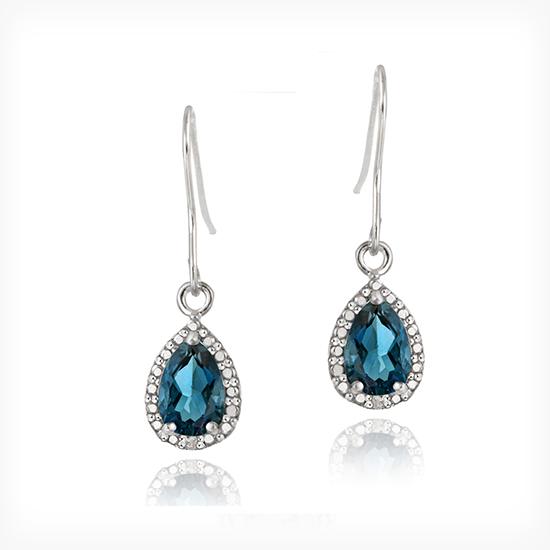 London Blue Topaz Jewelry