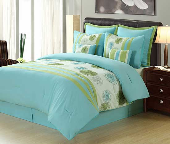 Beatrice Home Eight Piece Comforter Sets