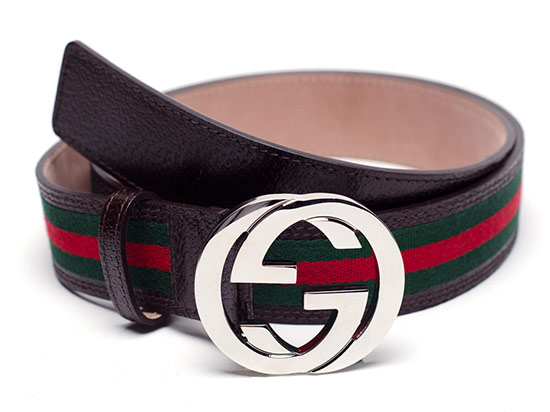 111087d5c $219.99 for a Gucci Men's Web Belt in Brown ($295 list price)