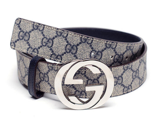 8eb1734415f  219.99 for a Gucci Men s Fabric Belt in Beige with Blue Leather ( 290 list  price)