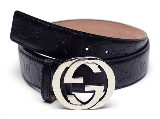 f0cdbd43f $299.99 for a Gucci Men's GG Leather Embossed Belt in Black ($340 list  price)