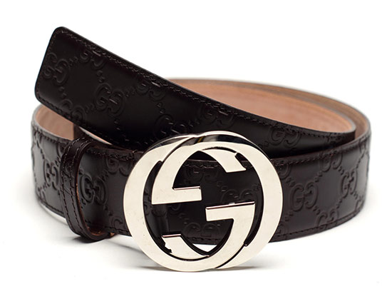 d3b161ac19c  299.99 for a Gucci Men s GG Leather Embossed Belt in Brown ( 340 list  price)