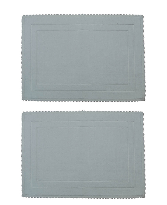 Set Of Two Mohawk Home Looped Cotton Bath Rugs