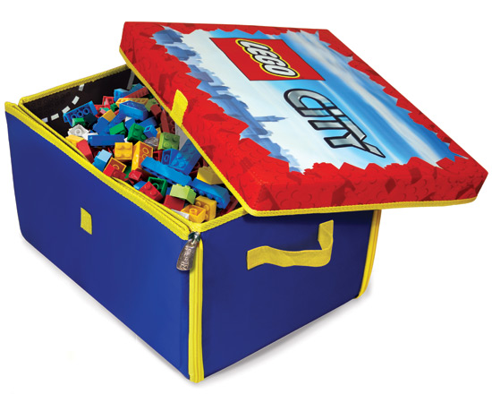 Lego Toy Box And Play Mat