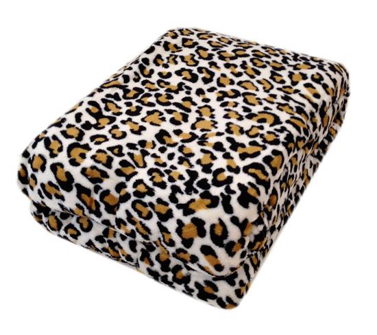 Plush Animal Print Blankets