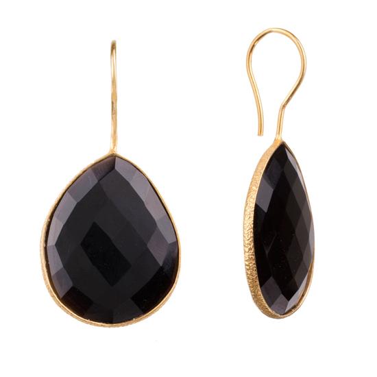 83686c7b9 Onna Ehrlich Gemstone Teardrop Earrings