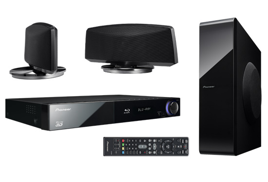 Pioneer Blu-Ray Home-Theater Systems